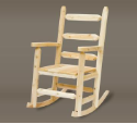 Cedar Ladder Back Outdoor Rocking Chair