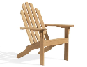Oxford Garden Shorea Wooden Adirondack Chair