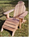 Clarks Lakeview Classic Adirondack Chair (Mahogany)