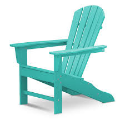 Polywood Inc. Palm Coast Fanback Adirondack Chair