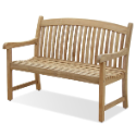 NorthCape Solano 4 Foot Teak Bench