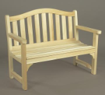 Northern Cedar Camel Back Garden Bench