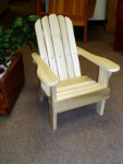 Child Adirondack Chair (Cypress, Red Western Cedar, Mahogany