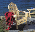 Rustic Northern White Cedar Folding Classic Adirondack Chair