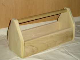 Wooden Tool Box (Small)