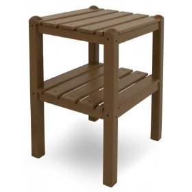 Polywood Inc Two Shelf Side Table