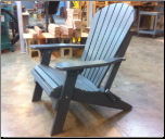 Amish Polywood Folding Adirondack Chair