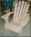 Clarks Charmed Five Slat Adirondack Chair (Cypress)