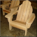 Clarks Lakeview Classic Adirondack Chair (Cypress)