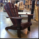 Clarks Crestwood Fanback Adirondack Chair (Ipe)