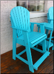 Polywood Adirondack Balcony Arm Chair