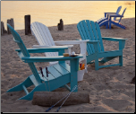 Polywood Inc. South Beach Adirondack Chair