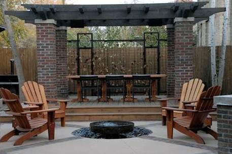 Mahogany Adirondack Chairs