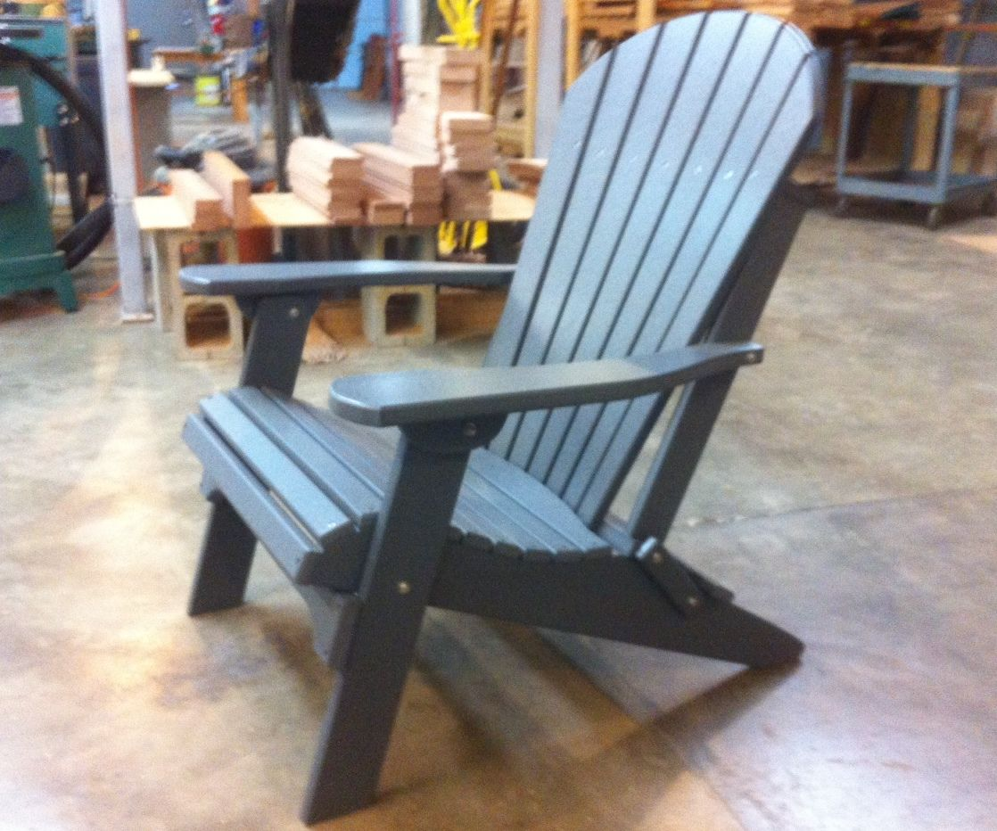 Amish Folding Poly Adirondack Chair Clarks