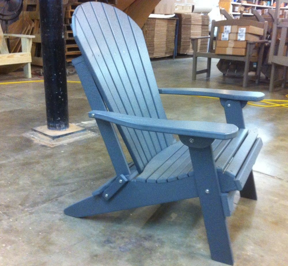 Charmant Amish Polywood Folding Adirondack Chair. Click To Enlarge Image(s)