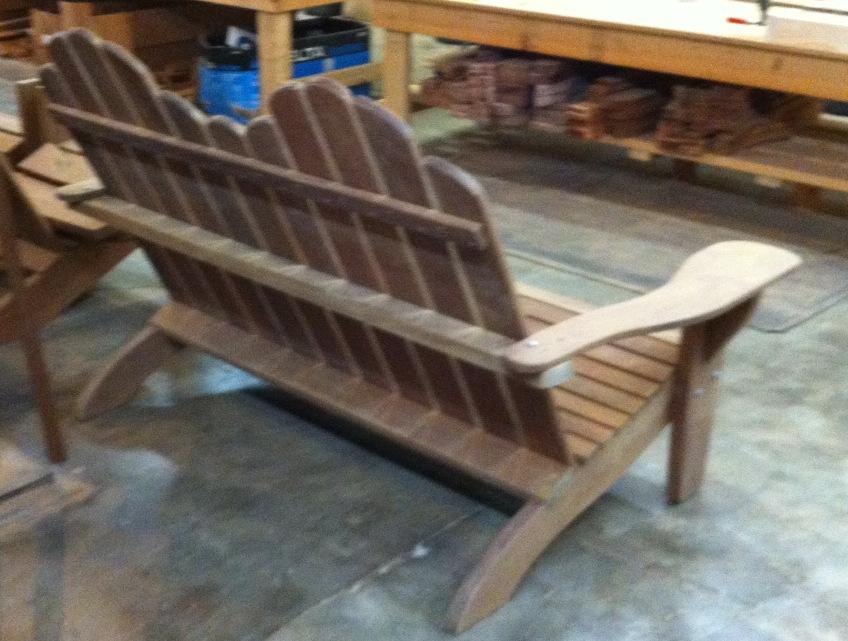 Ipe Adirondack Bench