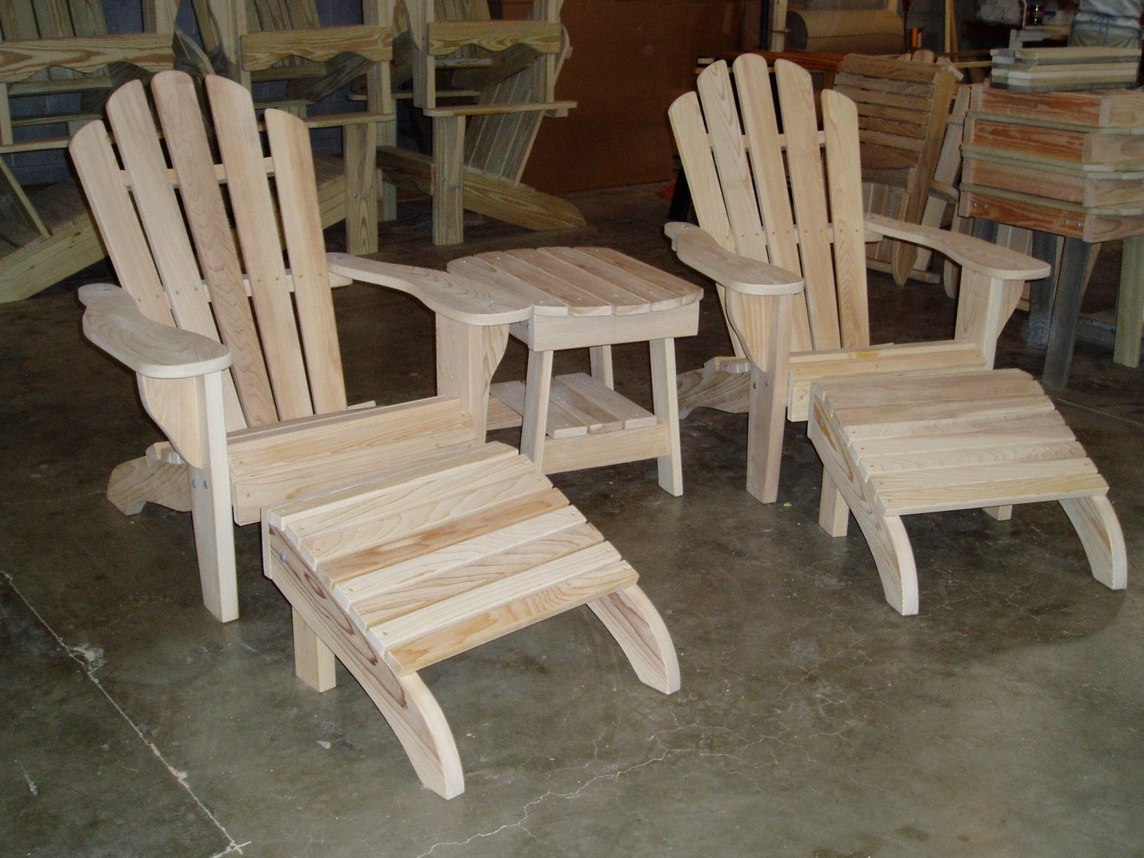 Our Adirondack Chair Wood Choices - Ipe outdoor furniture