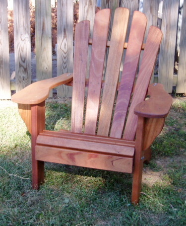 Wonderful Mahogany Adirondack Chairs