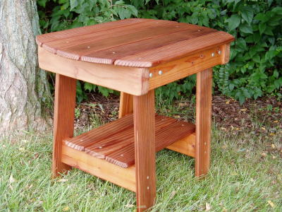Charmed Adirondack Table