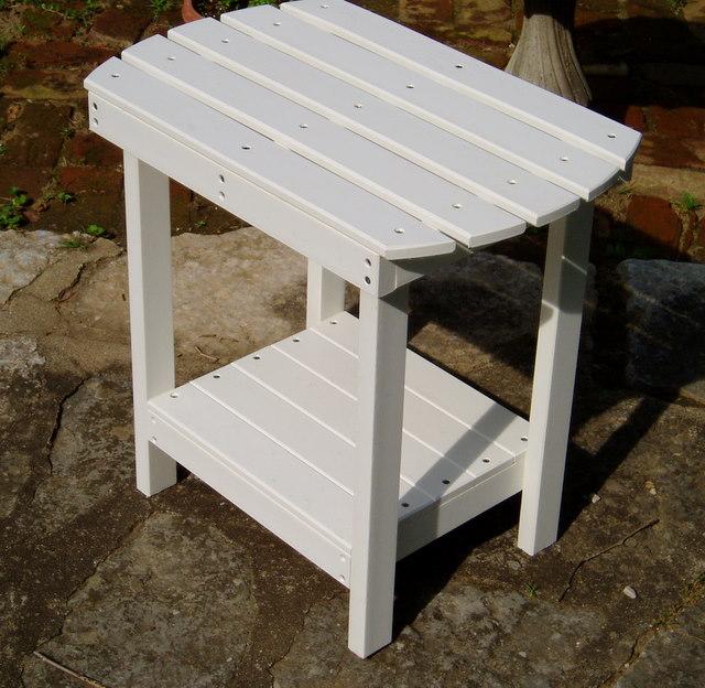 Polywood Adirondack Side Table - Polywood coffee table