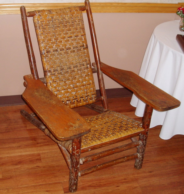 Prototype Of 1903 Westport Chair Made By Thomas Lee · Westport Spin Off