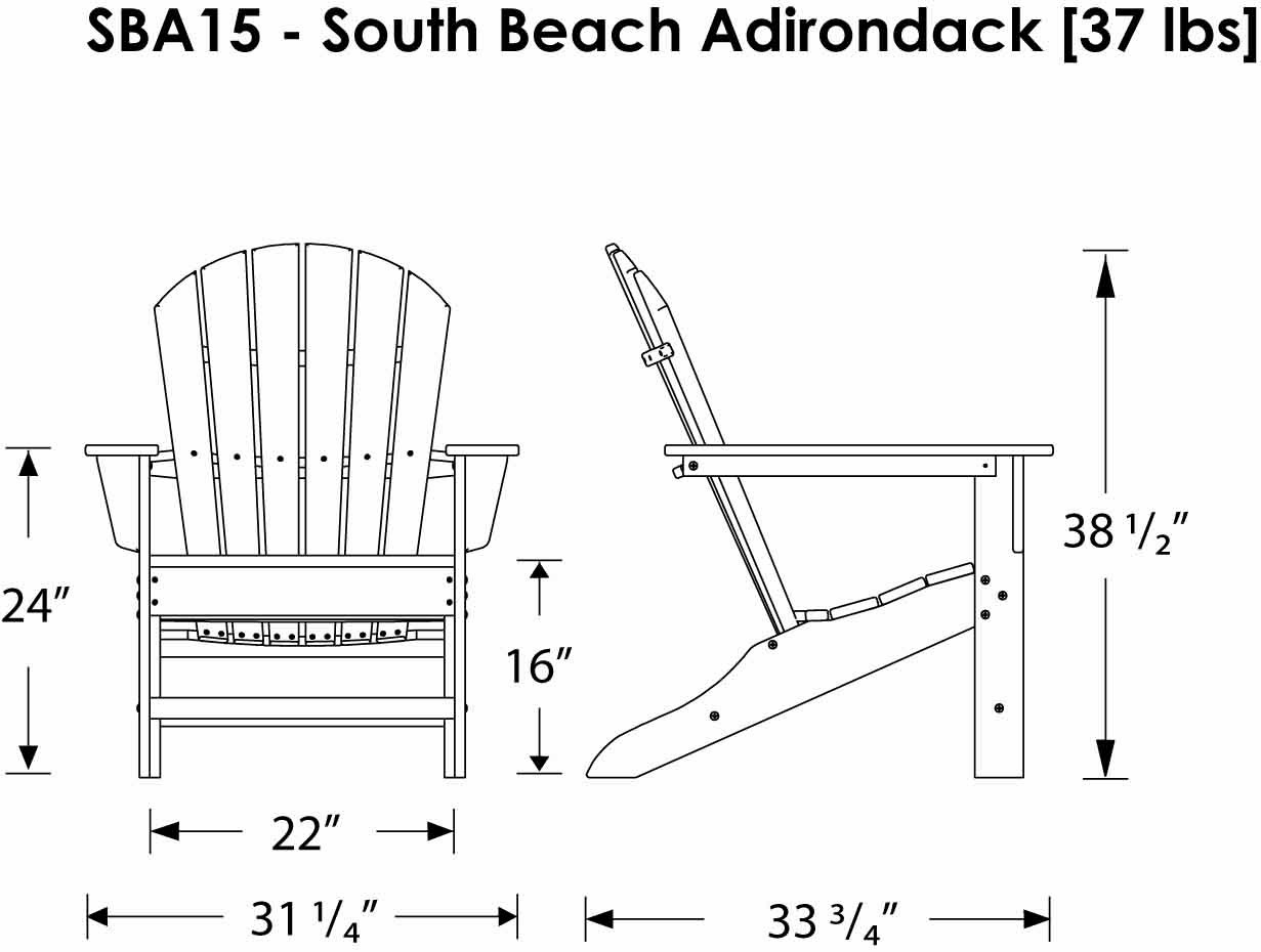 Adirondack Chair 15 Steps With Pictures