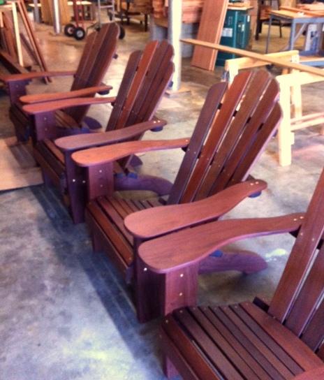 Ready To Go Ipe Katelyn Adirondack Chairs