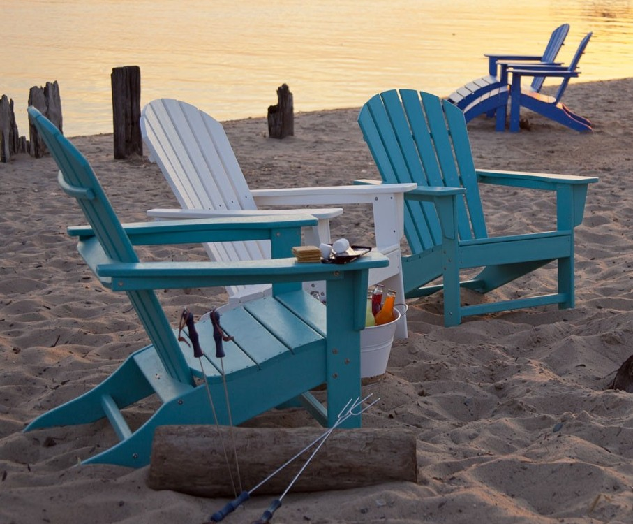 South Beach Polywood Adirondack Chair