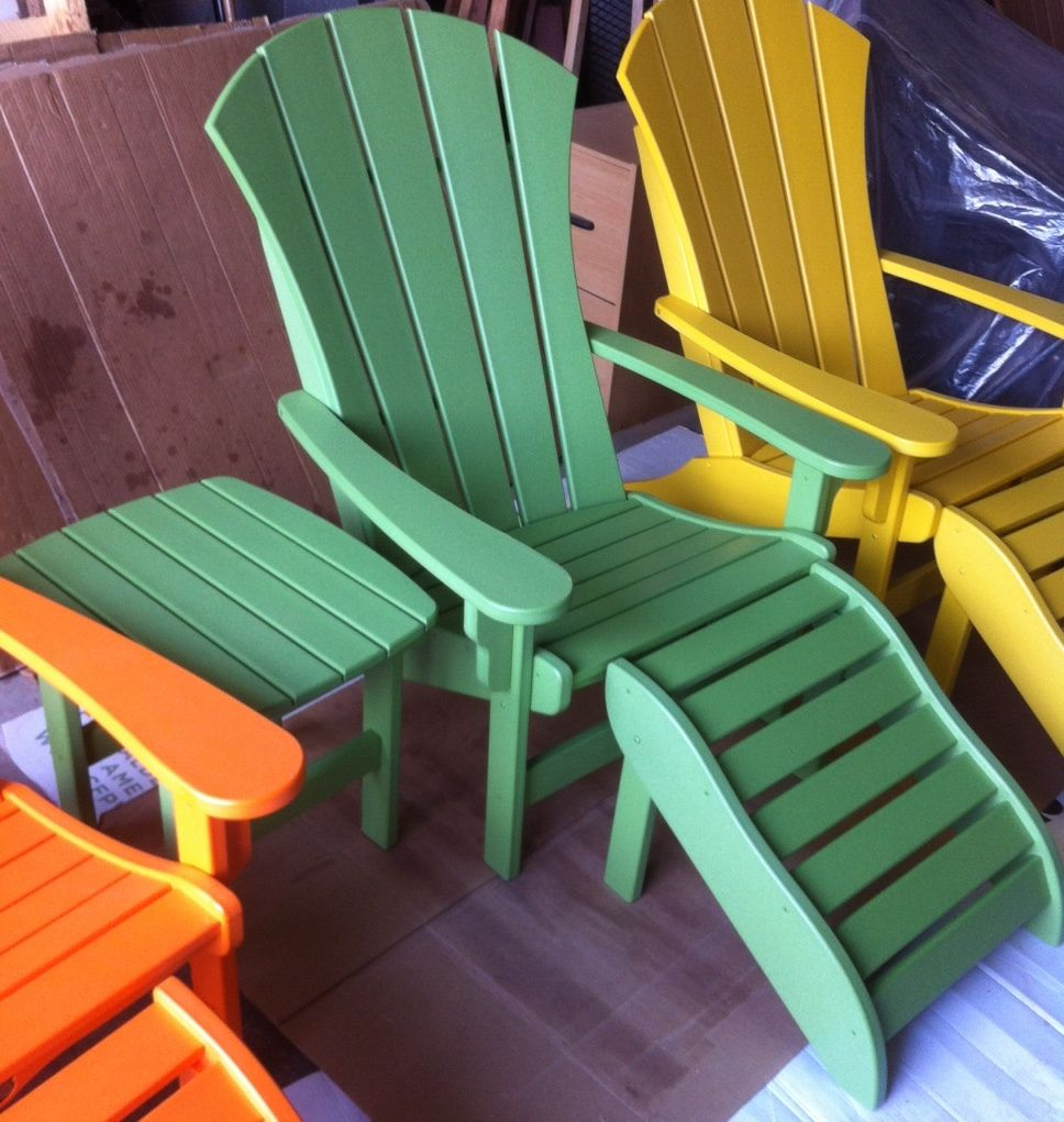 Sunrise Polywood Adirondack Chair