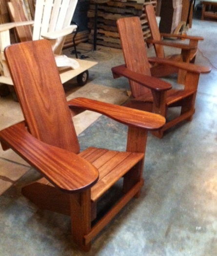 Exceptional Clarks Westport Adirondack Chair (Mahogany)