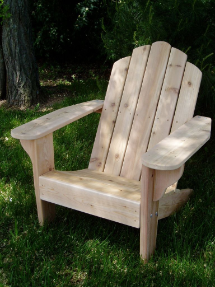 Clarks Original Big Red Classic Adirondack Chair