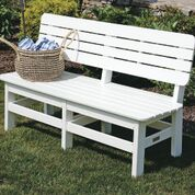 Malibu Poly Lumber 5 Foot Country Bench