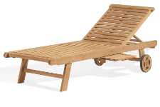 Shorea Wood Chaise Lounge