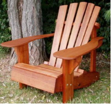 Clarks Original Charmed Fanback Adirondack Chair