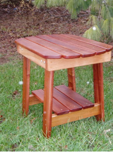 Charmed Side Table (Mahogany)