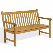5' Shorea Wood Classic  Bench