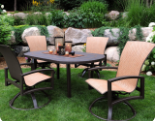 Outdoor Aluminum Chairs and Furniture