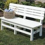 Malibu Poly Lumber 4 Foot Country Bench