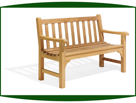 Shorea Wood 4' Foot Essex Bench
