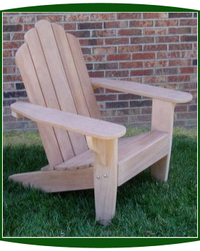 Clarks Big Red Classic Adirondack Chair (Mahogany)