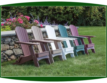 Malibu Folding Hyannis Adirondack Chair
