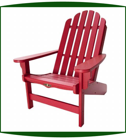 Pawleys Island Essentials Poly Durawood Adirondack Chair