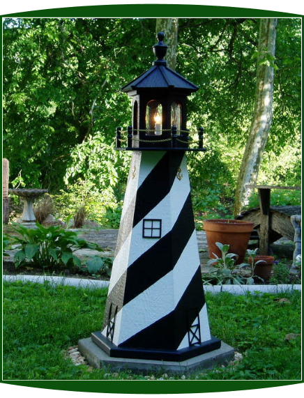 4' Outdoor Lighthouses