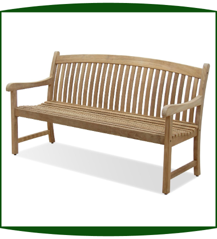 NorthCape Solano 5 Foot Teak Bench