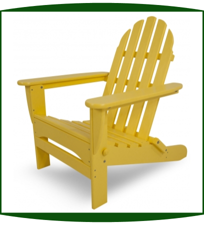 Polywood Inc Classic Folding Adirondack Chair