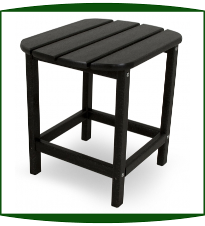 "Polywood LLC 19"" x 15"" South Beach Side Table"