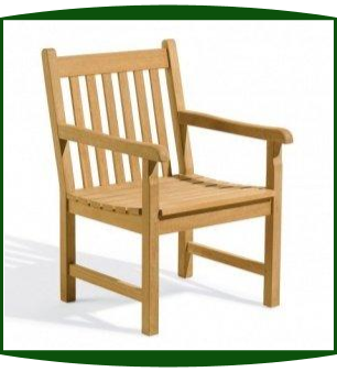 Shorea Wood Classic Arm Chair