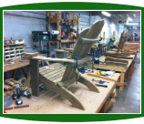 Katelyn Ipe Adirondack Chair Under Construction