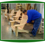 Finishing Cypress Katelyn Adirondack Chairs