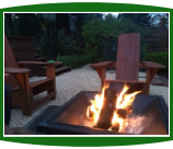 Westport Adirondack chairs and firepit
